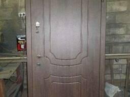 Продам входные металические двери с МДФ накладками