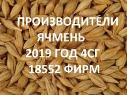 Продам ячмень. Справочник 2019 4СГ (18552 фирм)