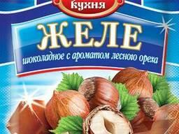Продам желе фруктовой и шоколадной группы