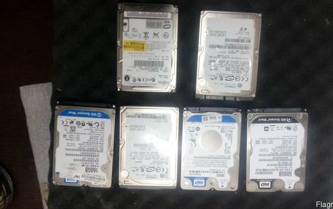Продам жесткий диск HDD 2.5 дюймов разные для ноутбука