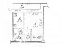Продаётся однокомнатная квартира на Красном Камне