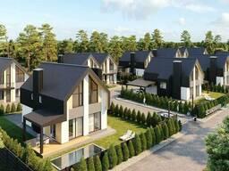 Продаются дуплексы и дома в котеджном городке с современной архитектурой и собственной. ..