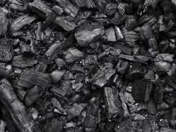 Продаж деревного вугілля з твердих порід дерев: дуб, граб / Sale of charcoal