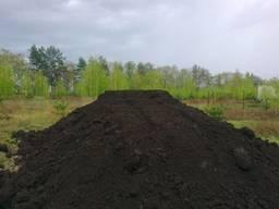 Чернозем доставка чорнозем торф глина грунт