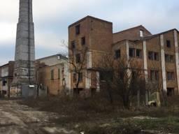Теріторія колишнього цукрового заводу.