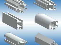 Продажа алюминиевого профиля еврошоп для торговых систем