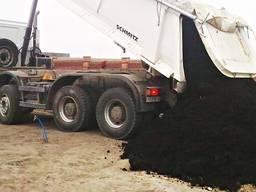 Продажа доставка чернозема торфа , чернозем торф грунт
