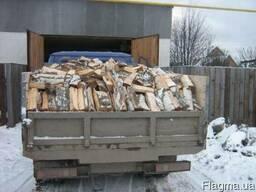 Продажа дров-дуб, акация. Порубленные, колотые пиленные.