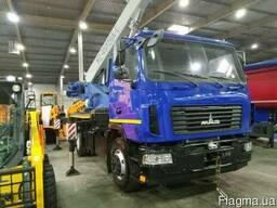 Продажа новых автомобильных кранов МАЗ 16 тонн КС-45729А