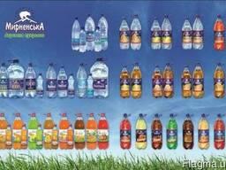 Продажа опт минеральной воды, газированные напитки, квас,