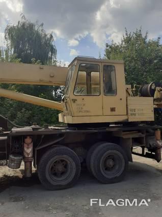 Продажа Собственник Автокран КРАЗ 250(КТА25) 25т Рабоч.1993 Мариуполь