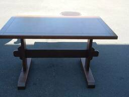 Продажа столов б/у коричневого цвета для кафе, баров