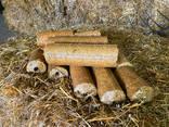 Продажа топливных брикетов из соломы от производителя ФХ Быхкало - фото 1