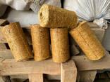 Продажа топливных брикетов из соломы от производителя ФХ Быхкало - фото 2