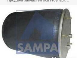 Продажа запчастей оси Fruehauf: барабанный и дисковый тормоз