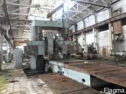 Продольно-фрезерный станок УФО765-тип 6620 стол 6000х2000