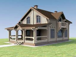 Проекты деревянных домов, в Днепре.
