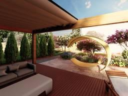 Проект дома, мини дома, бани, ландшафтное проектирование, проекты под ключ