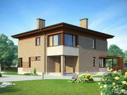 Проект двухэтажного дома Ц357