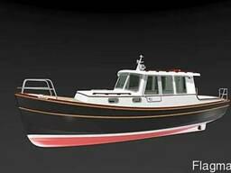 Проект катера 8 метров для самостройшиков