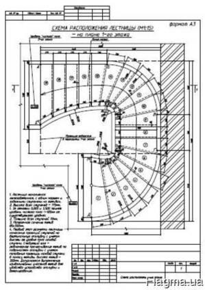 Проектирование бетонных лестниц