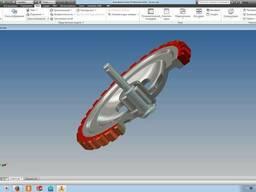 Проектирование деталей и сложных механизмов