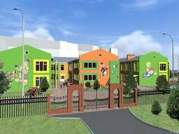 Проектирование детских учреждений (детских садиков, школ)