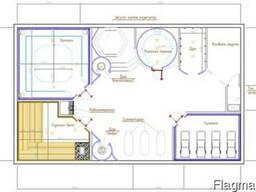 Проектирование и разработка дизайна СПА-центра