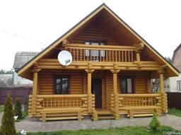 Проектирование и строительство деревянных домов – срубов и д