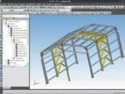 Проектирование металлоконструкций зерновых терминалов