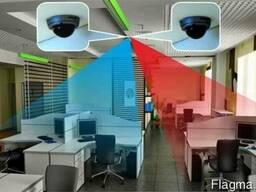 Проектирование монтаж настройка видеонаблюдения Компания