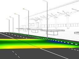 Проектирование сетей уличного освещения