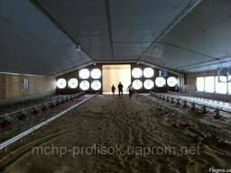 Проектирование систем микроклимата для птицеводства, монтаж