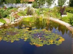 Проектировка, рытье и полное создание водоемов и прудов