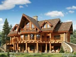 Деревянные дома - проект, строительство