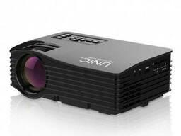 Проектор портативный мультимедийный LCD UNIC JSQ-UC68 Wi-Fi, черный