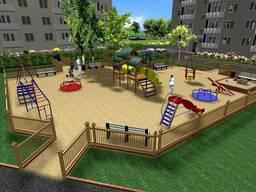 Проектування дитячих та спортивних майданчиків, благоустрій,