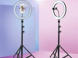 Профессиональная кольцевая светодиодная лампа LED RING D 36 см