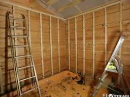 Профессиональная обшивка стен, беседок, кладовых, балконов ф