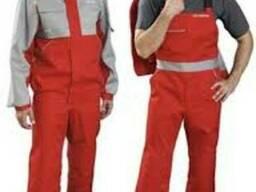 Профессиональная спецодежда рабочих, костюмы для автослесаре