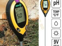 Профессиональный анализатор почвы 4 в 1 FLO 89000 Польша