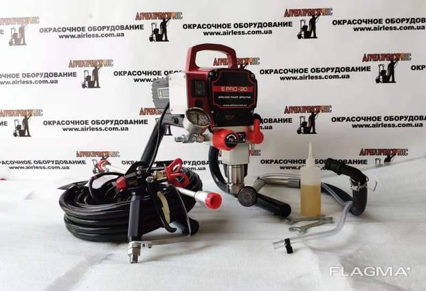 Профессиональный поршневой окрасочный аппарат E - Pro 20