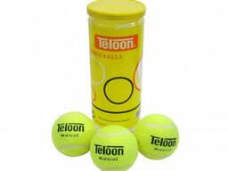 Профессиональные мячи Teloon для большого тенниса