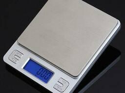 Профессиональные ювелирные весы Ks-386 до 3 кг (шаг 0, 1), 2 чаши