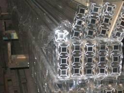 Профиль алюминиевый для торговых витрин АД31т