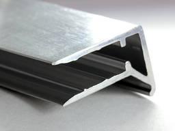 Профиль алюминиевый торцевой АПТ- 6, 8, 10, 16 мм
