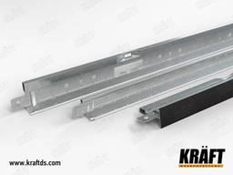 Профиль Kraft Fortis Т-24 3600 RAL 9003