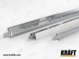 Профиль пристенный Kraft NOVA L 19*24*3000мм RAL 9003