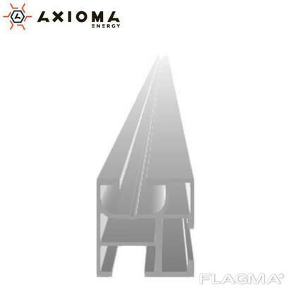 Профиль несущий алюминиевый 6005 Т6 4140 мм Axioma Energy