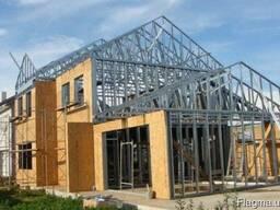 Профиль С-150 толщ. 1, 2мм для Реконструкции зданий